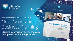 Ventana Research: The Next-Generation of Business Planning