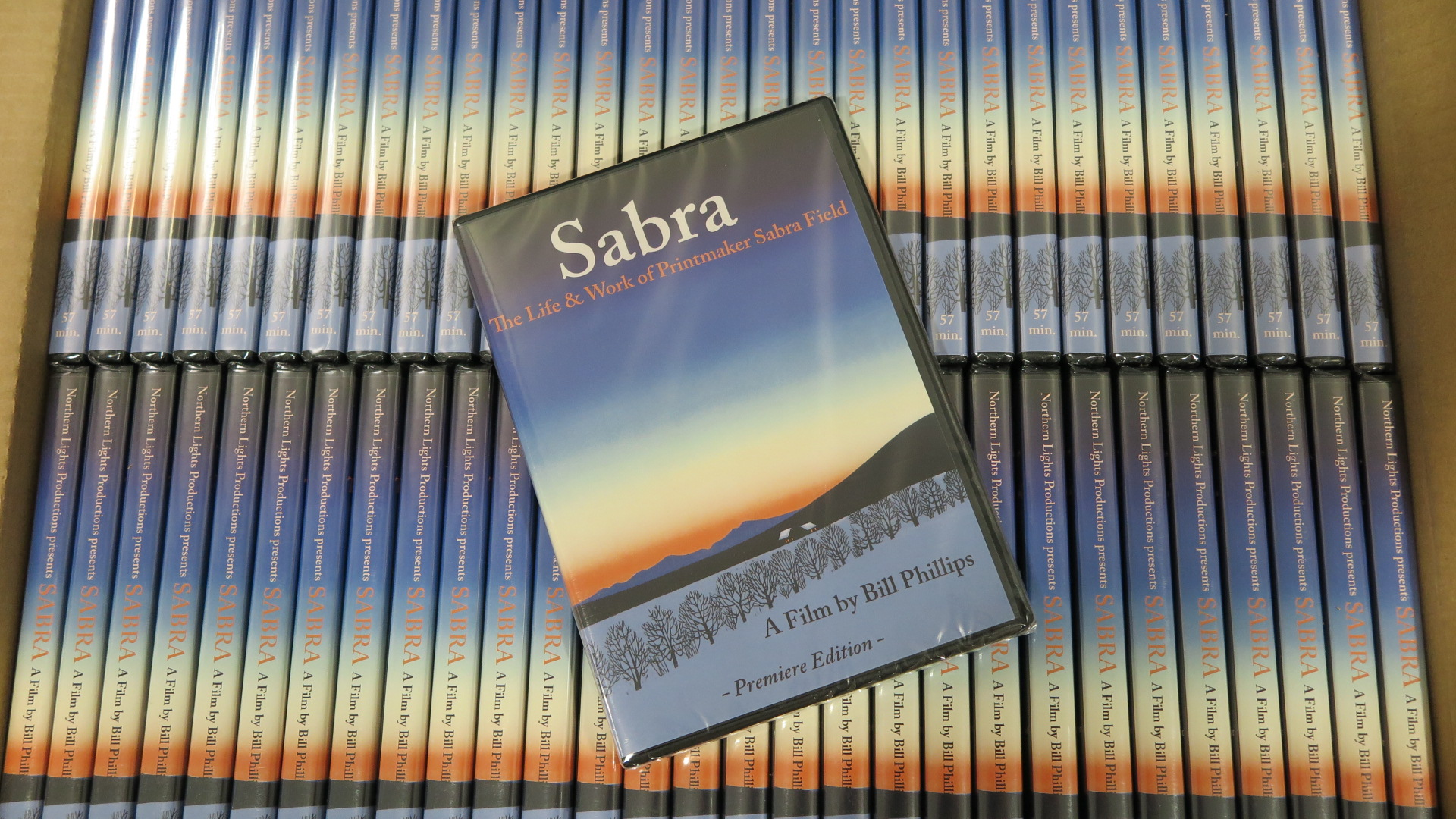 Sabra DVDs, premier edition ready to ship