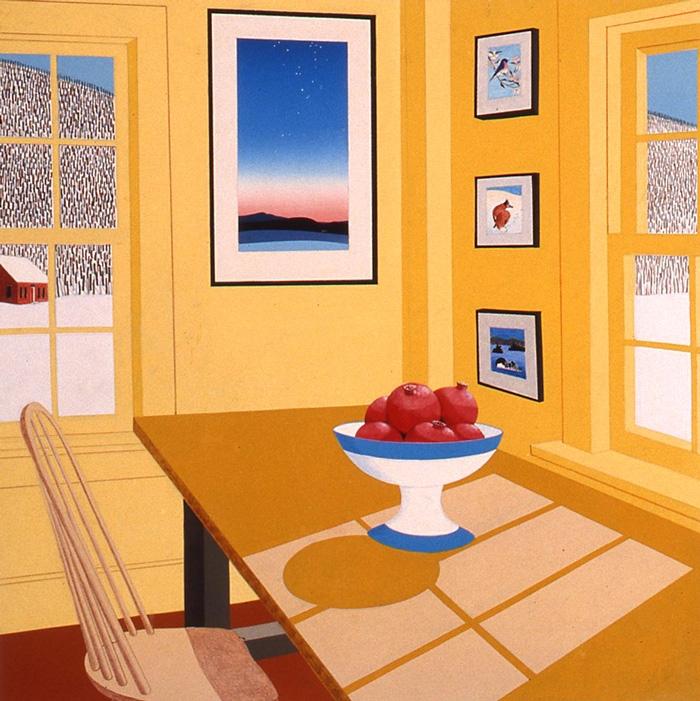 Interior with Pomegranates