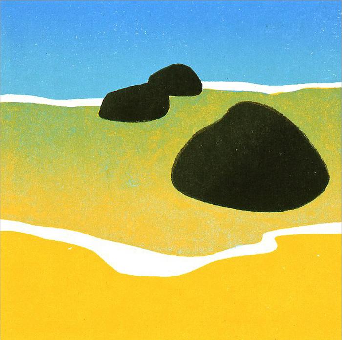 Black Rocks, Blue Sea