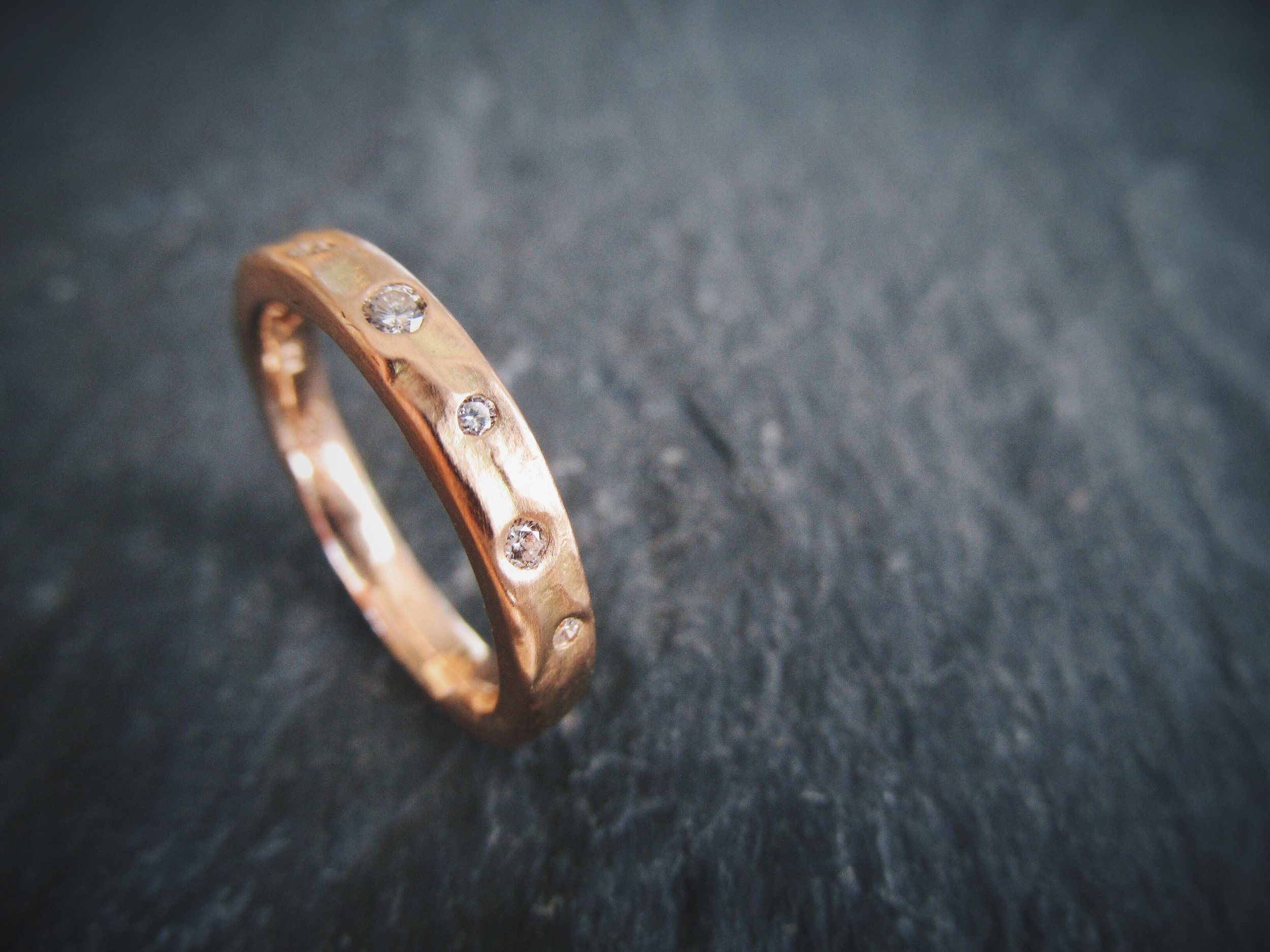 Rugged Half Constellation Eternity Band. Starting at $1230