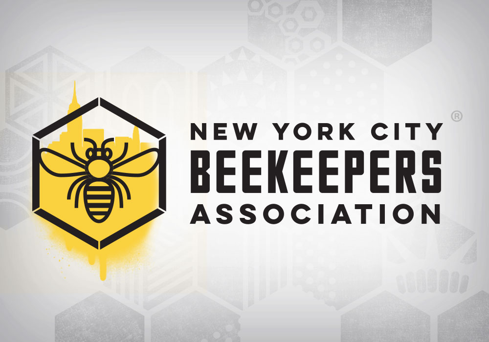 Logo and Visual Identity New York City Beekeepers Association
