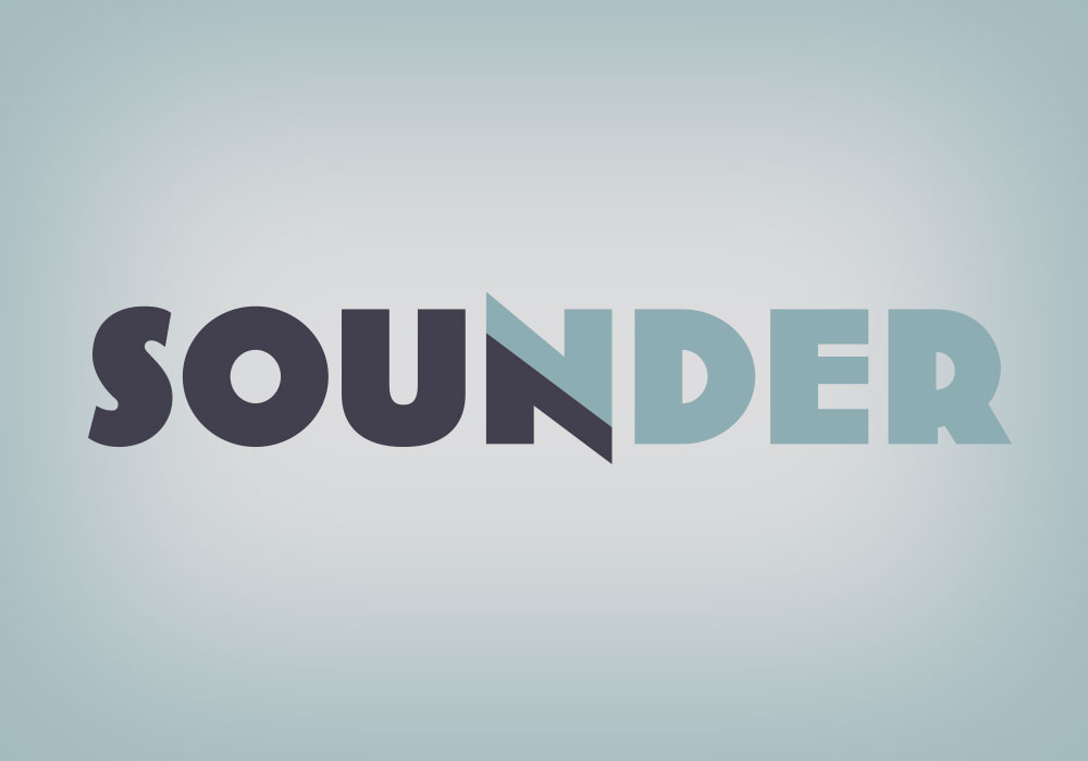 Logo and Visual Identity Sounder