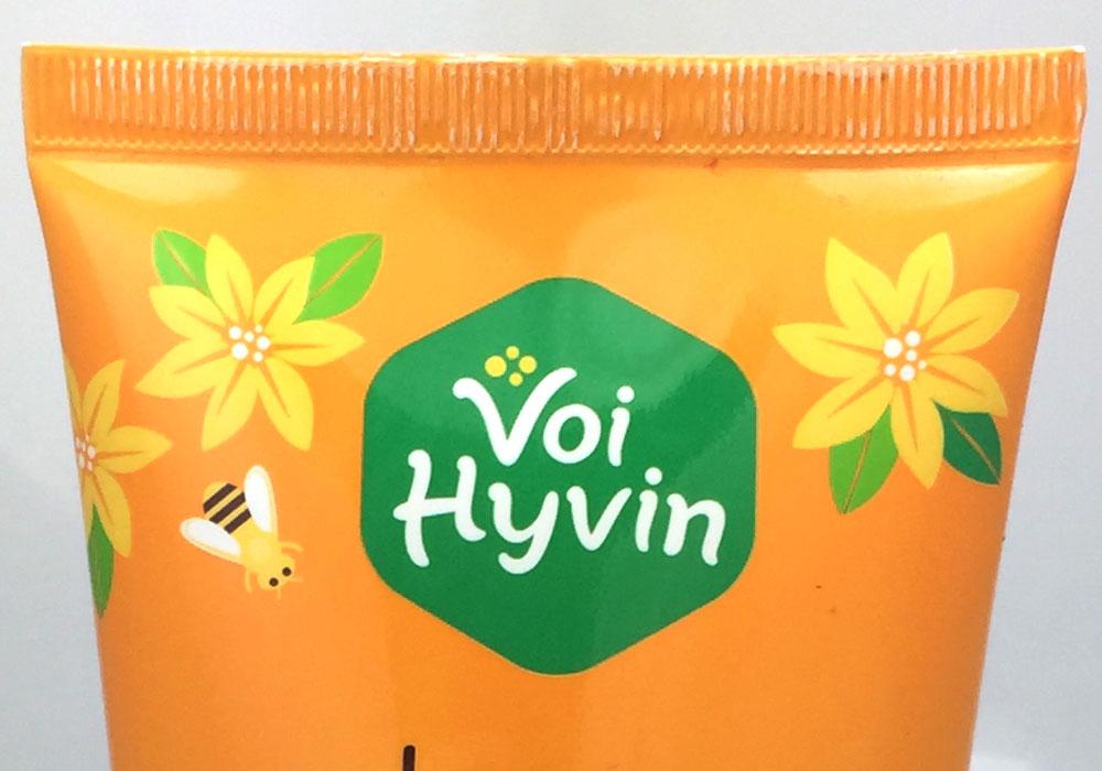 Packaging Design Voi Hyvin Organic Honey
