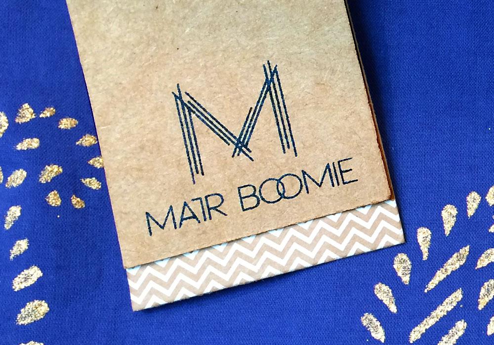 Logo and Visual Identity MATR BOOMIE