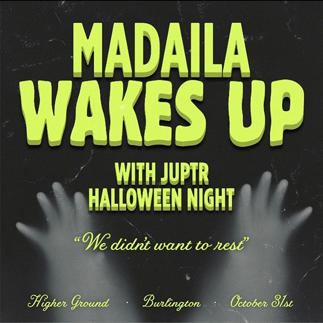 Tee hee 👻 The rumors are true. We return to musical service HALLOWEEN NIGHT with @juptrband in the Higher Ground Ballroom‼️Ticket link in bio. Tell your friends. See you there. 🎃🎃🎃🎃