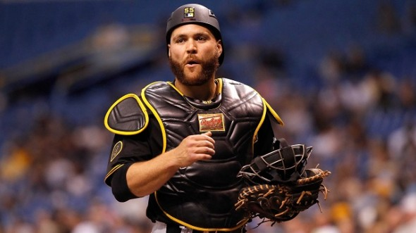 Russell Martin may not be hitting for power, but the veteran backstop may be enjoying his best season yet, says CBN's Nick Ashbourne. Consider this: Martin leads all catchers with a .408 OBP, and is second in runners caught stealing and WAR.