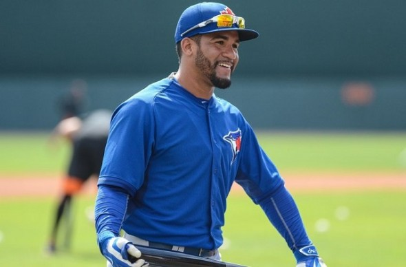 2B Devon Travis has his head on straight one month into his Blue Jays career — but then he always had head helmet on the right way … knowing education came first.