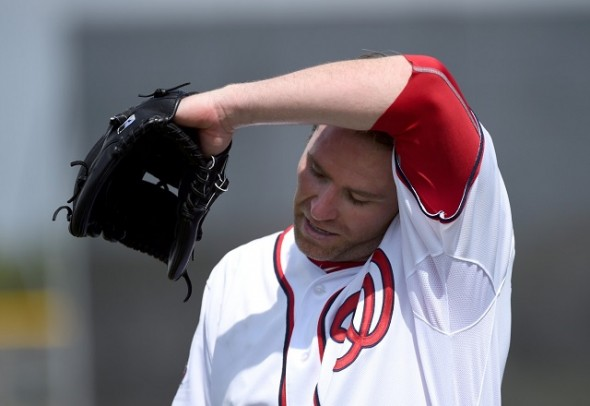 As the Blue Jays search for a closer their old one Casey Janssen who signed with the Washington Nationals as a free agent this off-season, should be off the disabled list and activated by the end of the month.