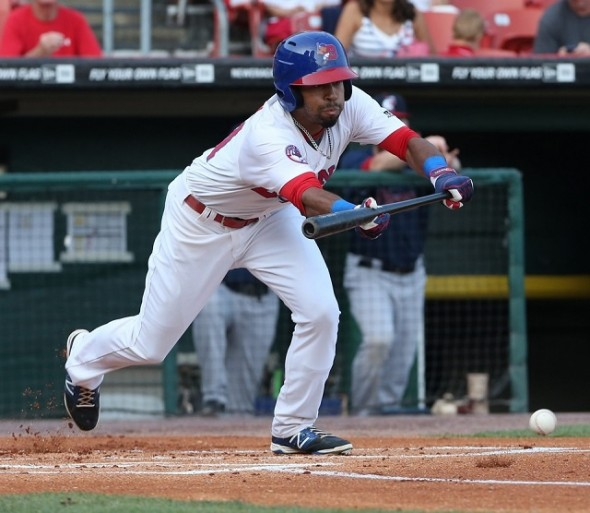 OF Dalton Pompey (Mississauga, Ont.) is at triple-A Buffalo hoping to return to the Rogers Centre.