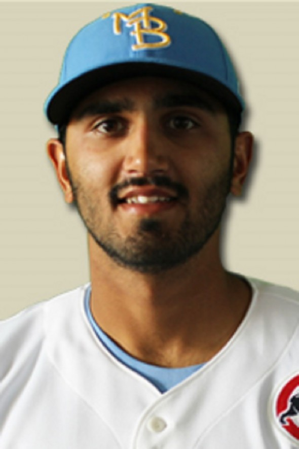 RP Jasvir Rakkar (Brampton, Ont.) had two scoreless outings covering four innings in picking up a save and a win for the class-A Myrtle Beach Pelicans. Rakkar pitched two seasons for the Ontario Terriers and coach Danny Thompson before heading off to the Stony Brook University Seawolves.