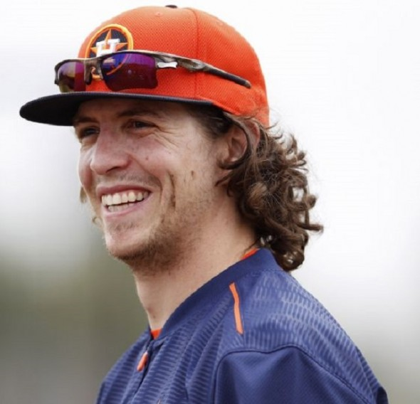 LF Colby Rasmus is happy in his new digs with the first place, ahead-of-schedule Houston Astros, off to their best start since 1986.