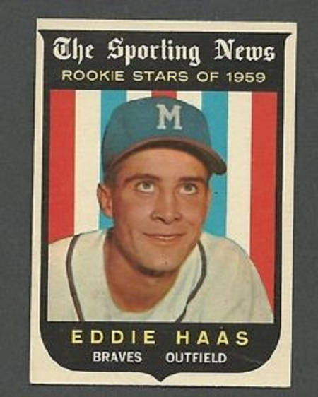 * Former Montreal Expos scout Eddie Haas who helped find the likes of  Delino DeShields, Marquis Grissom, Cliff Floyd,Rondell White  and others and followed Joe Torre into the Atlanta Braves manager's office turns 80. ....