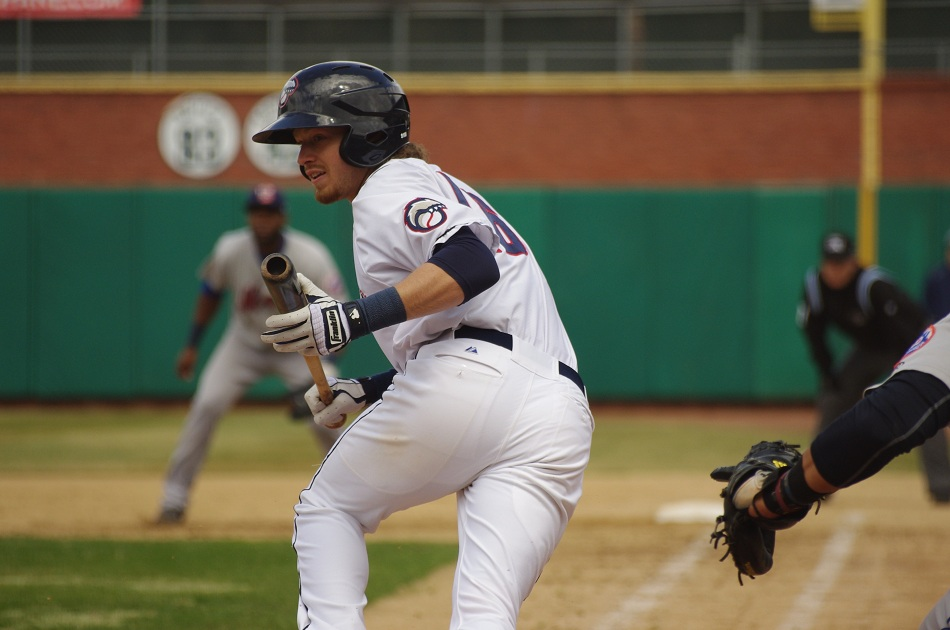 * Shane Opitz wasn't bunting against double-A Reading as he homered in a New Hampshire loss.