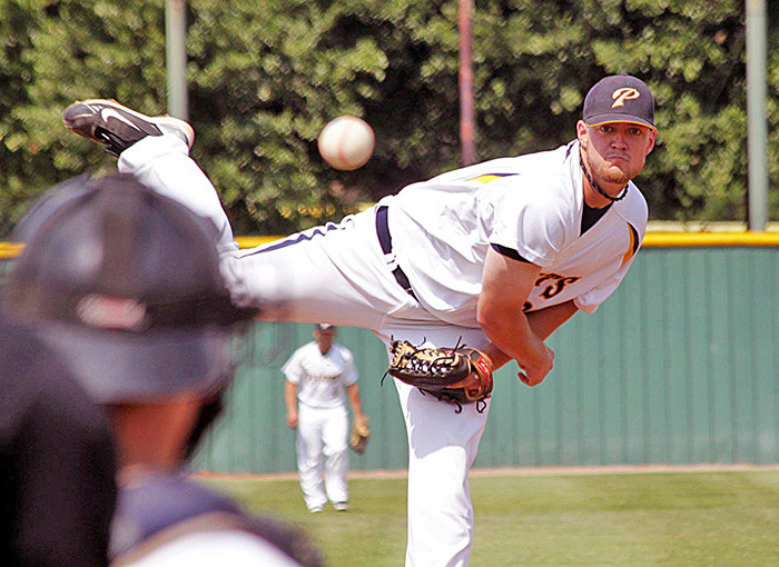 * RHP Jared Mortensen (Abbotsford, BC) was conference pitcher of the year at LSU-Shreveport and undrafted ... He's this week's CBN Player of the Week after tossing seven scoreless at double-A Montgomery.
