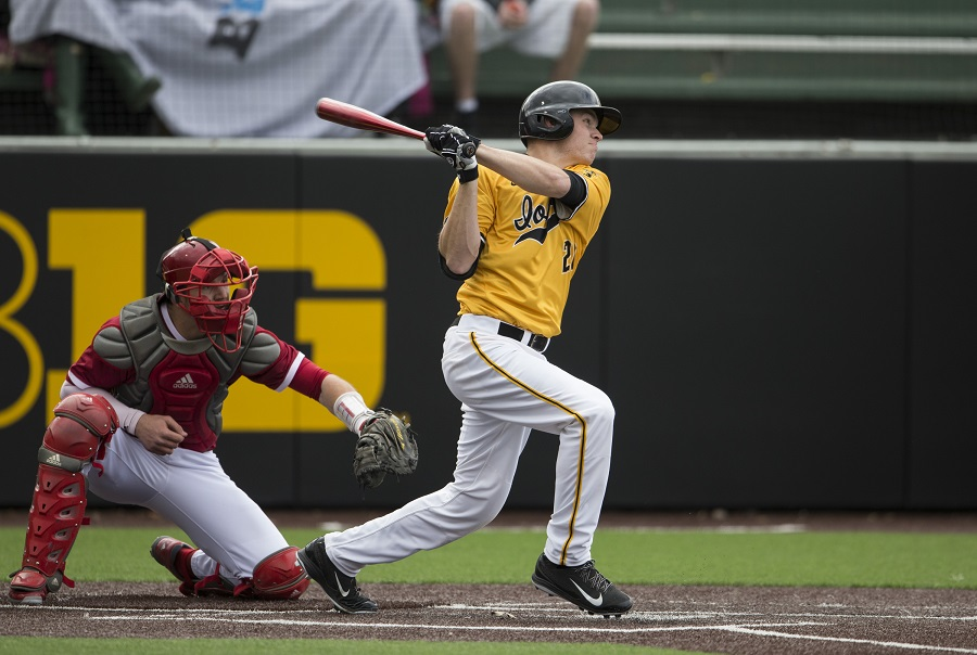 C-INF Austin  Guzzo-Foliaro (Broooklin, Ont.) made 15 starts for  the Iowa Hawkeyes elimnated Sunday night by theMissouri State Bears in the final of the Springfield, Mo. regional.