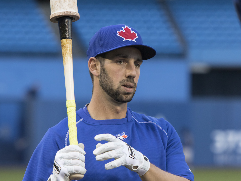 Chris Colabello is a reason for Canadians to celebrate Italian Heritage month in Canada, along with Toronto FC's    Sebastian Giovinco.