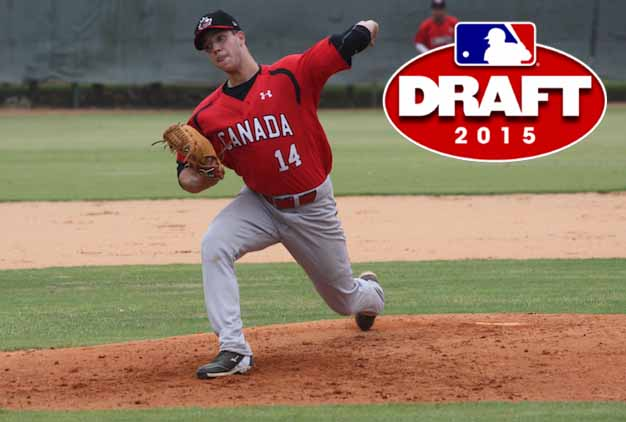 LHP Isaac Anesty (Guelph, Ont.) was one of five players selected by Cincinnati Reds scouting director Chris Buckley and scouts Bill Byckowski and Dan Bleiwas.