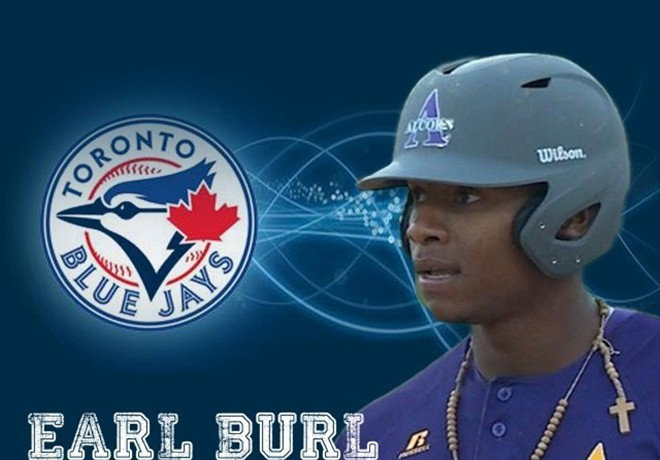 The Blue Jays drafted Earl Burl III in the 30th round.