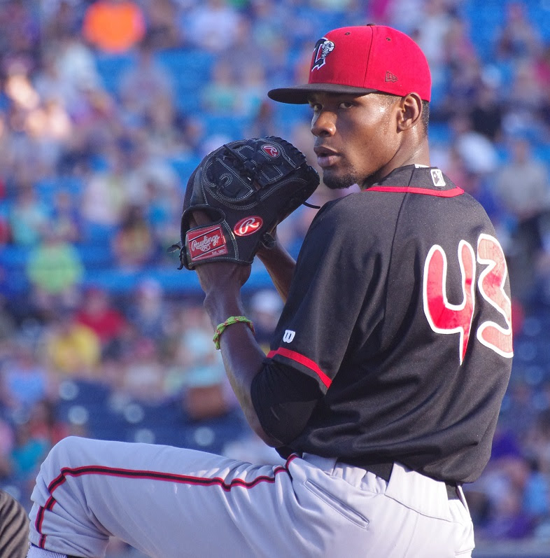 RHP Miguel Castro, who spent part of April as the Blue Jays closer, has been assigned to class-A Dunedin.