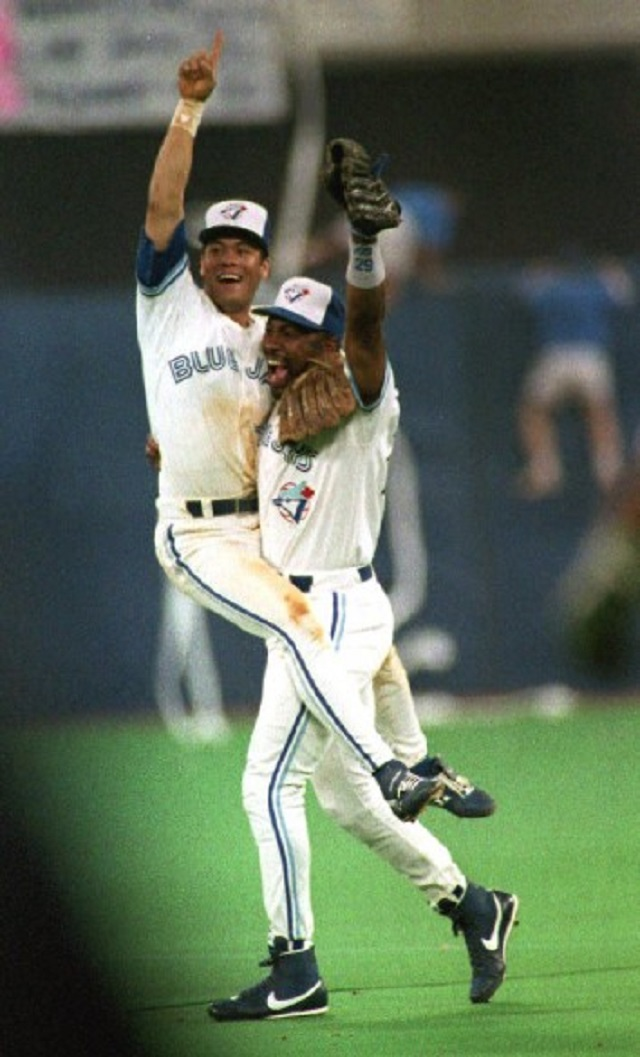Robbie Alomar and Joe Carter, who arrived in the same trade from San Diego in 1990 were half of the Blue Jays Franchise Four.