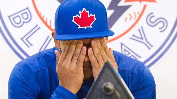 Howthe Blue Jays approach the rest of the seasonis anybody's guess. ButSection 108 weighs their options anyway. (photo: Fred Thornhill/Reuters)