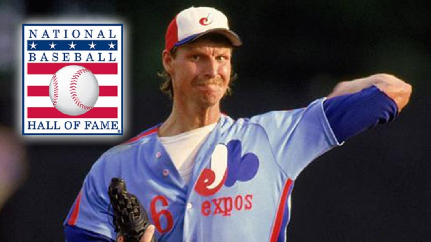 Former Montreal Expo LHP Randy Johnson will be inducted Sunday. His plaque will have an Arizona Diamondbacks logo on it.