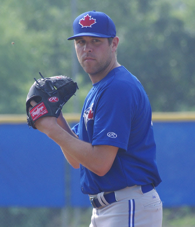 RHP Conor Fisk pitched 6 2/3 innings and allowing one run with five strikeouts for class-A Lansing. Photo: Jay Blue.