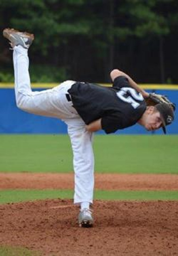 RHP Dexter Coughtery (Kingston, Ont.) pitched a complete game for the Ontario Blue Jays in their win over the Mid South Brewers to win the B.E.S.T tourney in Pensecola, Fla.