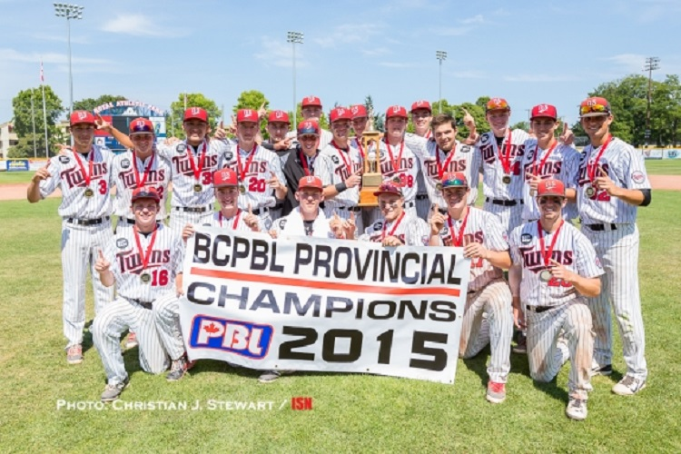 The North Shore Twins, coached by  John Haar,  won the BC Premier League Final 4 and earned a trip to the nationals in  Sherbrooke, Que. Photo: Christian J. Stewart.