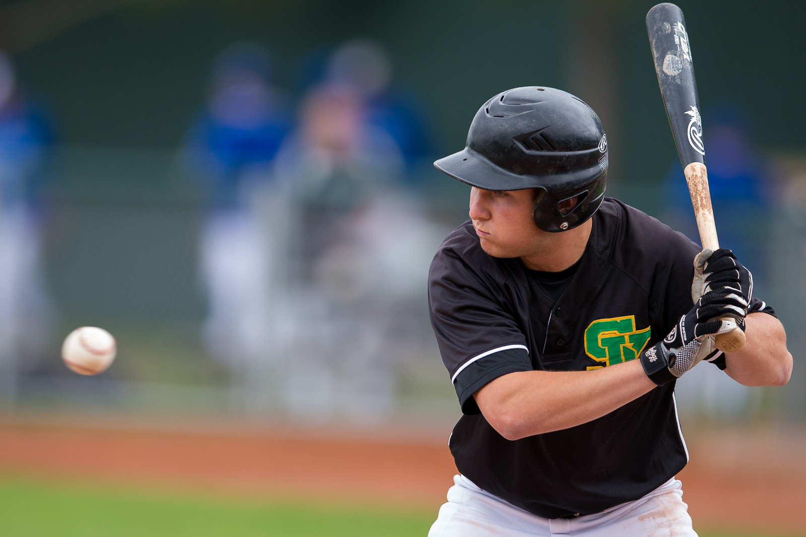 Saskatchewan's Jordan Malainey was 3-for-3 with three RBIs in a win over Newfoundland to remain undefeated at 3-0.Photo: Just Sports Photography.