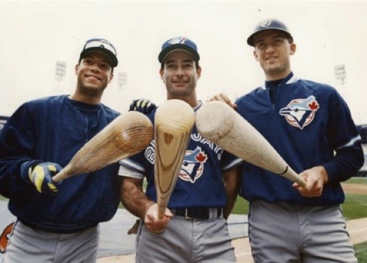 Hal of Famers Robbie Alomar and Paul Molitor finished . behind teammate John Olerud in the 1993 AL batting race. The 1993 Blue Jays ran the bases and hit for average and the 2015 Jays mashed. The better offensive team?.