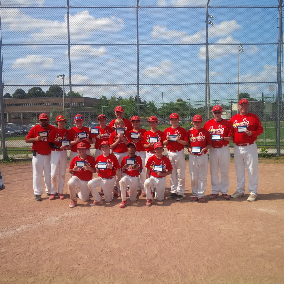 The Royal York Cardinals defeated Bloordale to earn a berth at the peewee OBAs in Windsor.