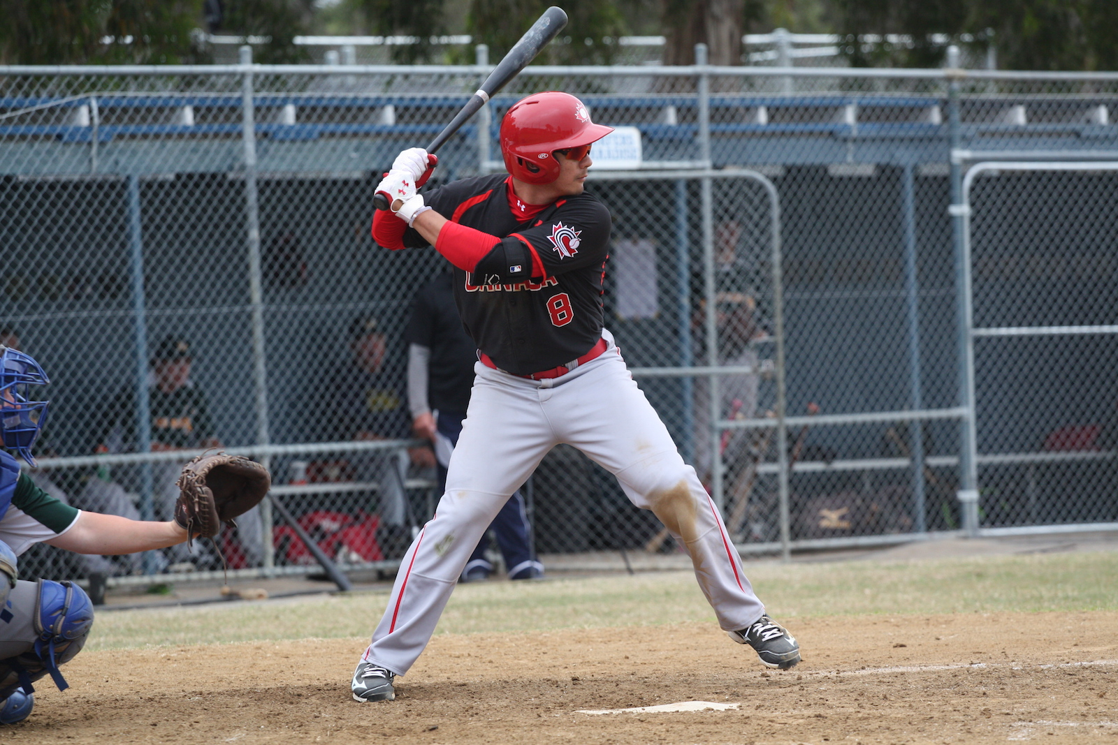 INF Royce Ando (Mississauga, Ont.) hit his second home run down under as Canada lost to Australia.