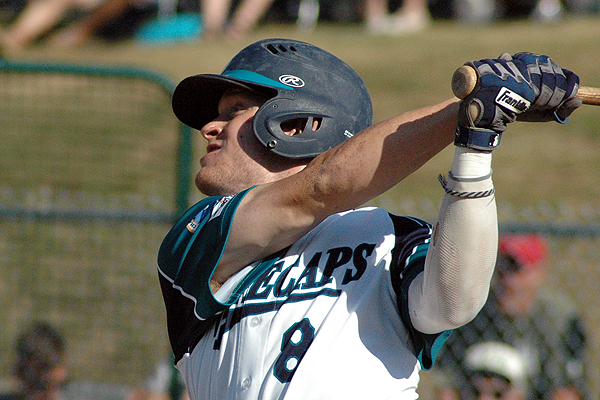 OF Toby Handley (Whitby, Ont.) earned a berth on the Cape Cod League all-star team. Photo: Sean Walsh/Capecod.com Sports.