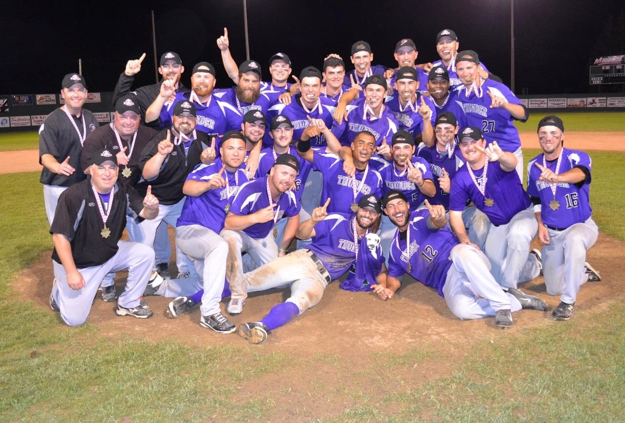 The Tecumseh Thunder claimed the national senior crown in Chatham, N.B.