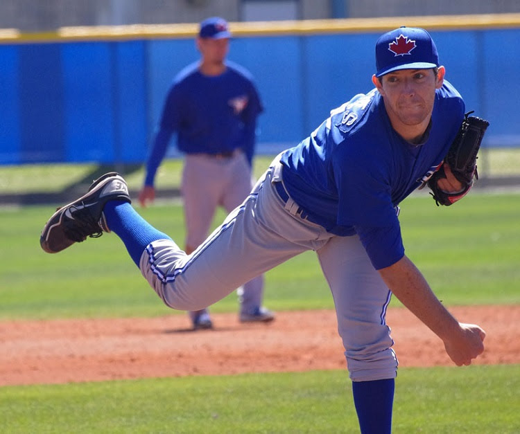 Danny Barnes struck out five in three innings of relief for double-A New Hampshire. Photo: Jay Blue.