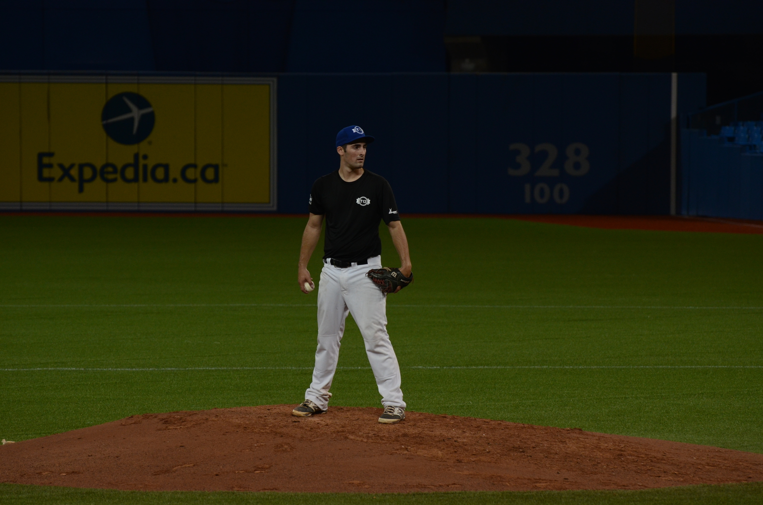 Ontario Black starting pitcher Mitchell Clark (Windsor, Ont.) of the Windsor Selects. Photo Credit: Jonathan Soveta