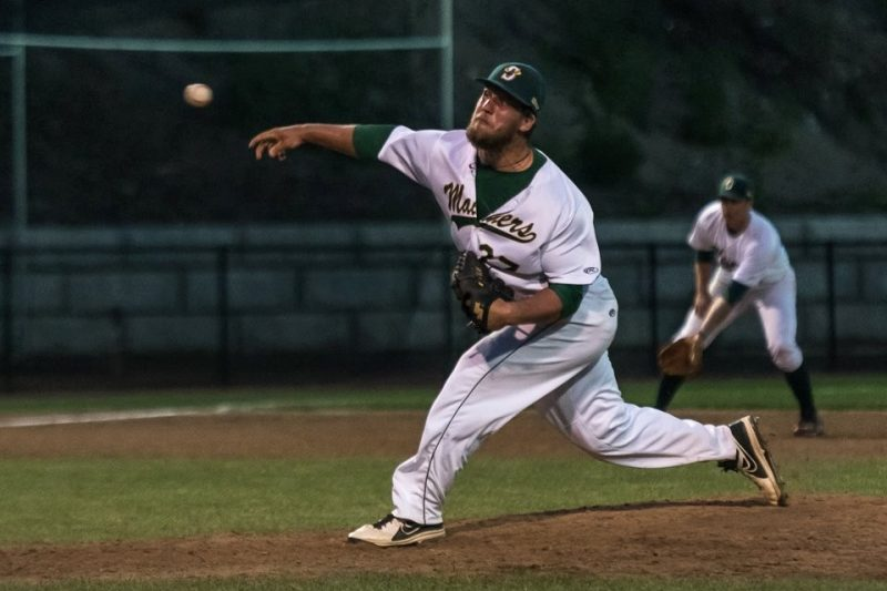 Closer Iannick Remillard (Valleyfield, Que.) heads to the Canisius Golden Griffs for his senior year after a successful summer ball session with the Sanford Mariners in Maine.