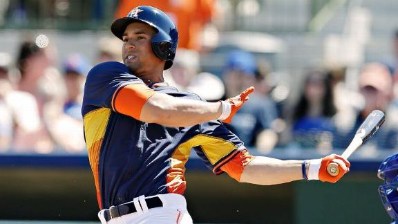 OF George Springer of the Houston Astros.