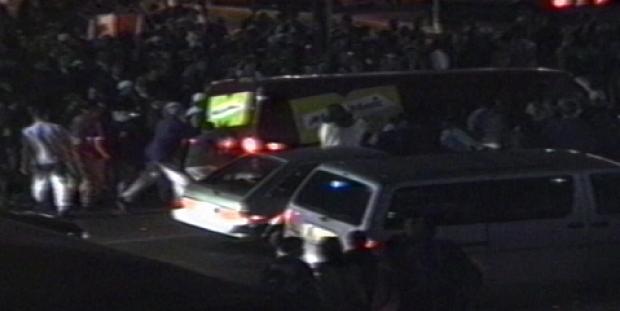 There was a riot on 8th Street in Saskatoon the night Blue Jays' Joe Varter hit his three-run walk-off to win the 1993 World Series.