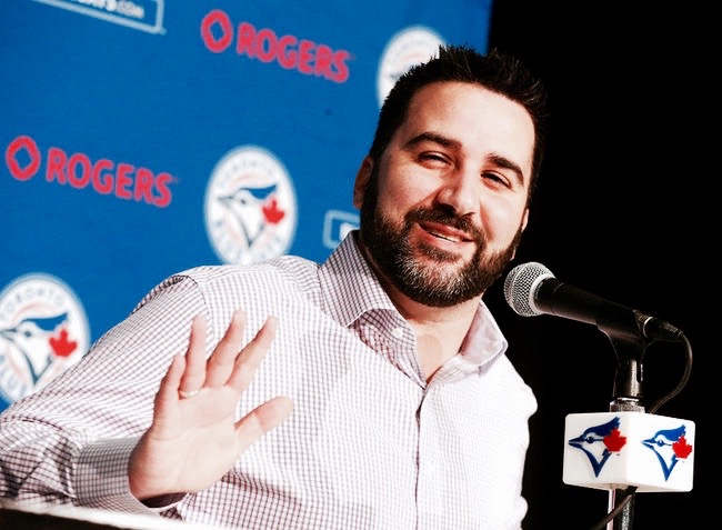 after an incredible season, fans don't want to say goodbye to former gm alex anthopoulos (photo: michael leake / postmedia network)