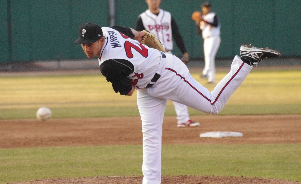 LHP Griffin Murphy was one of the many Blue Jays minor leaguers released.