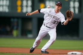 Will Colorado Rockies 1B Justin Morneau (New Westminster, BC)return to his old stomping grounds in Minneapolis.