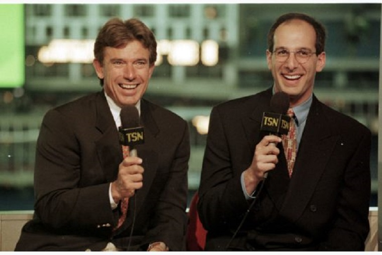 Buck Martinez and Shulman when they started out with TSN are back together again at Sportsnet.