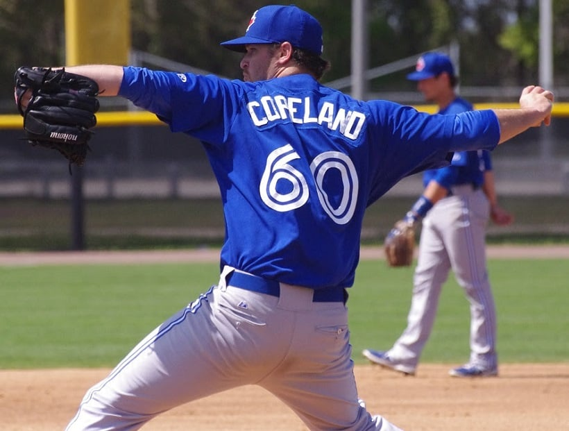 RHP Scott Copeland had a cup of tea with the Blue Jays in 2015. This season he hopes to get a cup of coffee at least. Photo: Jay Blue.