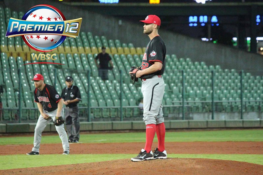 RHP Chris Leroux (Mississauga, Ont.) has re-signed with the Philadelphia Phillies and winning gold at the Pan Ams and pitching at the Premier 12.