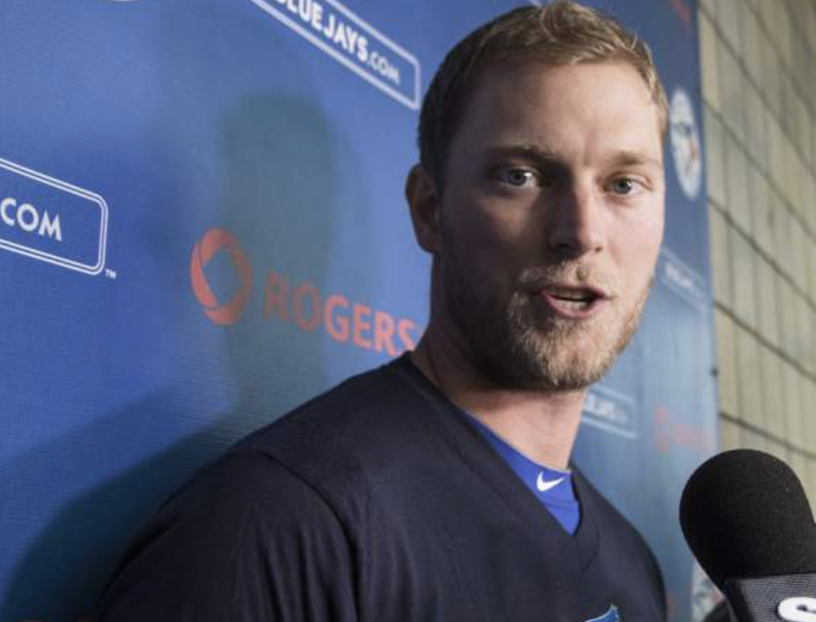 EXPECT TO SEE A LOT MORE OF MICHAEL SAUNDERS IN 2016. SECTION 108 ALSO BREAKS DOWN SOME OF THE OTHER (GOOD AND BAD) CHANGES JAYS FANS WILL HAVE TO FACE THIS SEASON. (PHOTO: JOHN LOTT/NATIONAL POST)