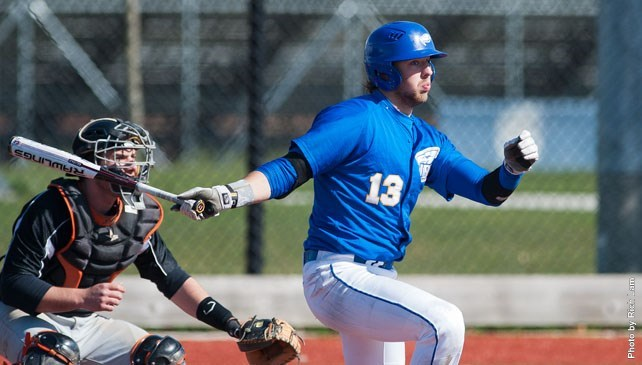 UBC Thunderbirds 1B Bruce Yari (Waterloo, Ont.) is off to a successful start hitting .449 with three homers and 17 RBIs.