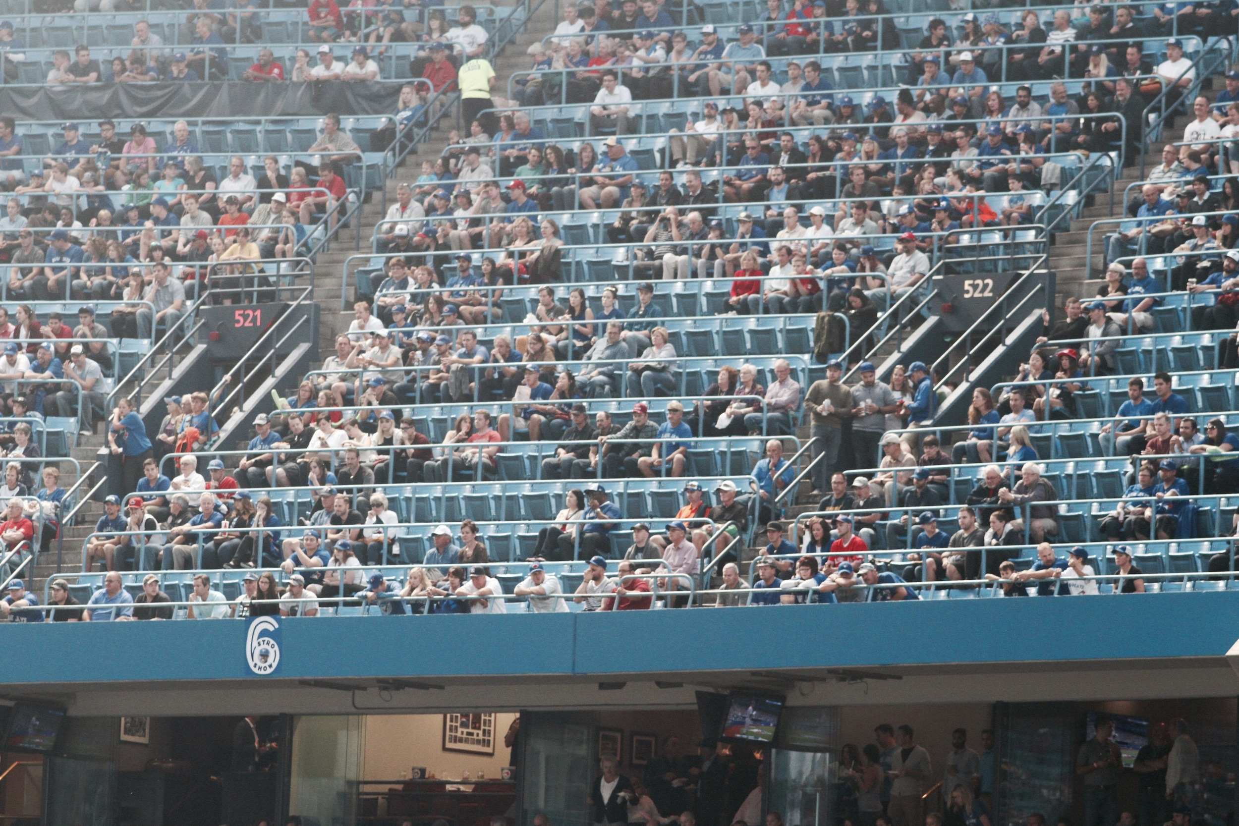 Don't expect too many empty seats at the Rogers Centre in 2016. (Photo: Jeremy King)